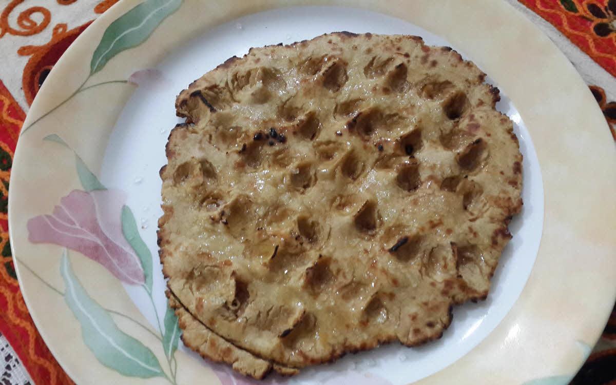 गुड़ की रोटी